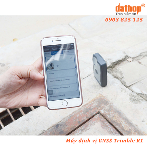 may dinh vi gnss trimble r1