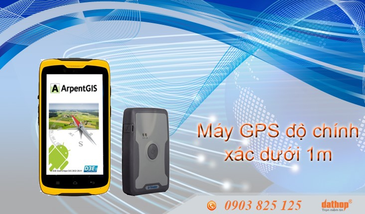 may gps do chinh xac duoi 1m