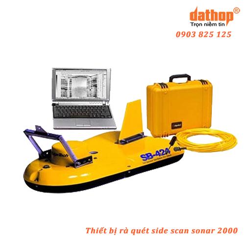 Thiết bị rà quét side scan sonar 2200-M