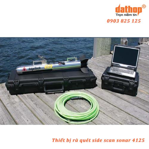 Thiết bị rà quét side scan sonar 4125