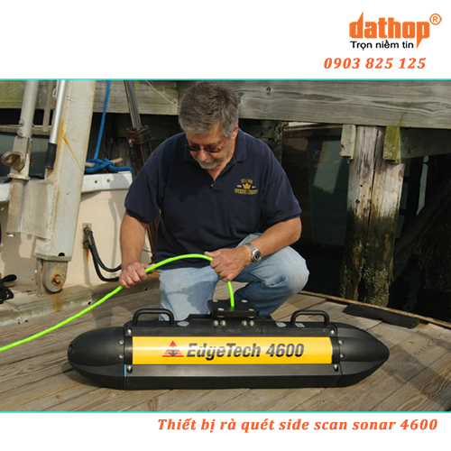 Thiết bị rà quét side scan sonar 4600