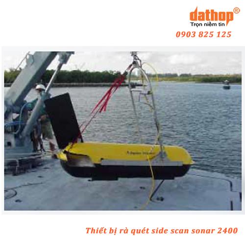 Thiết bị rà quét side scan sonar 2400