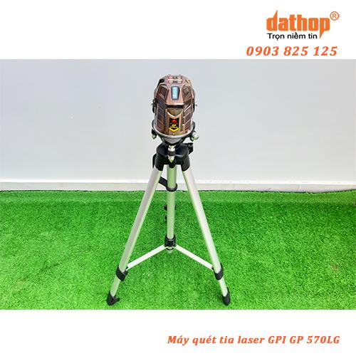 May quet tia laser GPI GP 570LG