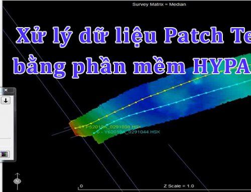 Video – Hướng dẫn cách xử lý dữ liệu Patch Test bằng phần mềm Hypack