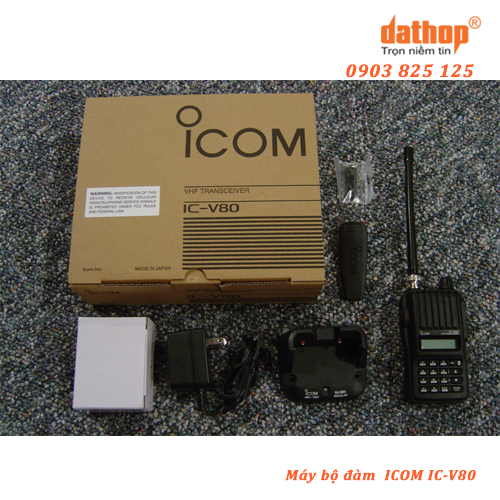 May bo dam Icom IC-V80