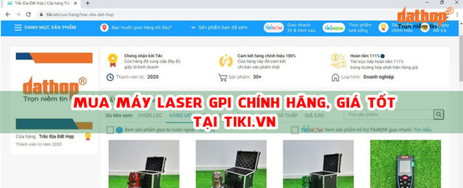 Mua may can bang laser GPI chinh hang