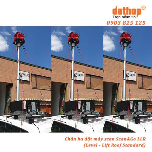 Chan ba dat may scan LLR Light - Level - Lift Roof Light