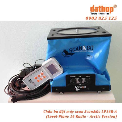 Chan ba dat may scan LP16R-A - Level-Plane 16 Radio - Arctic Version