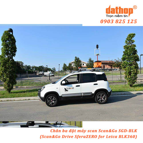 Chan ba dat may scan SGD-BLK - Scan&Go Drive SferaZERO for Leica BLK360