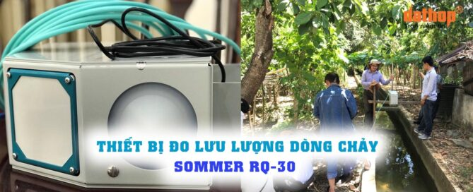Thiet bi do luu luong dong chay Sommer RQ-30