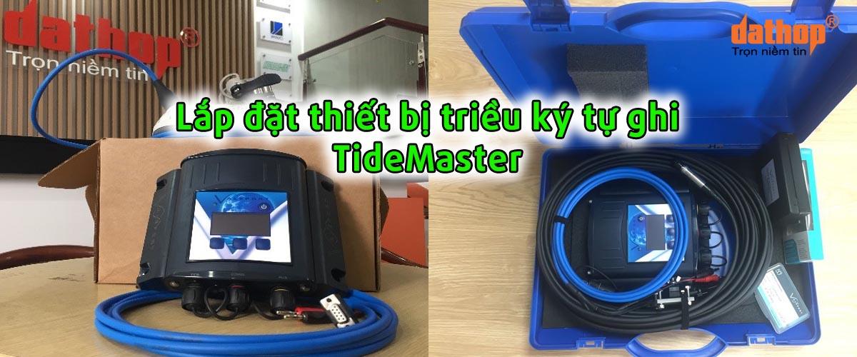 Lap dat thiet bi trieu ki tu ghi TideMaster