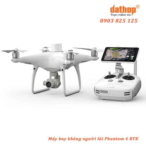 Phantom 4 RTK là loại máy bay không người lái (Drone) mới nhất của DJI