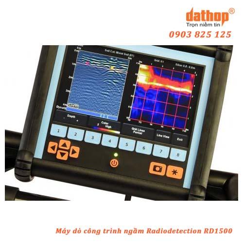 Máy dò công trình ngầm Radiodetection RD1500