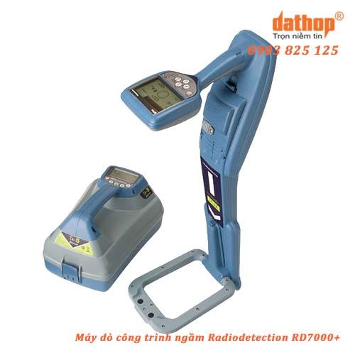 Máy dò công trình ngầm Radiodetection RD7000+