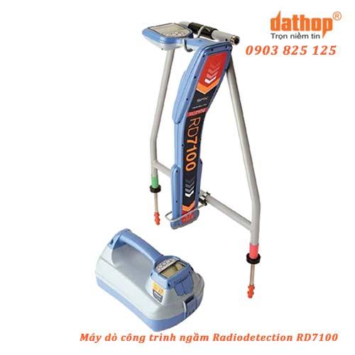 Máy dò công trình ngầm Radiodetection RD7100