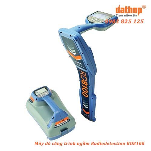 Máy dò công trình ngầm Radiodetection RD8100