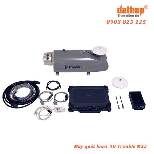 Hệ thống máy quét laser 3D di động MX2