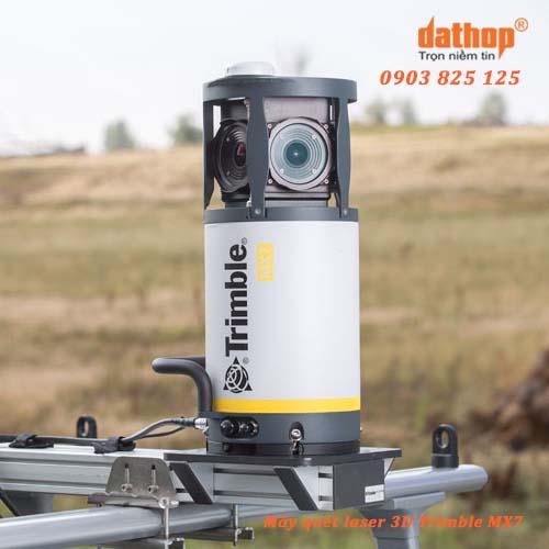 Trimble MX7 hệ thống máy quét laser 3D di độngTrimble
