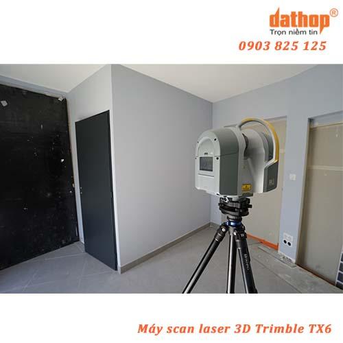 Scan Laser 3D Trimble TX6 là giải pháp hiệu quả về chi phí
