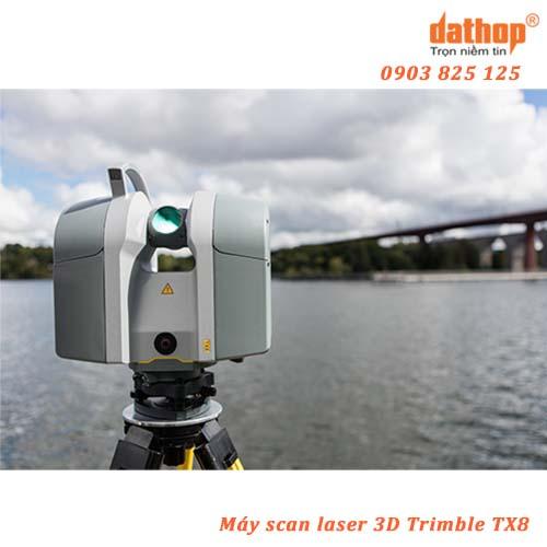Scan Laser 3D Trimble TX8 thiết lập các tiêu chuẩn mới