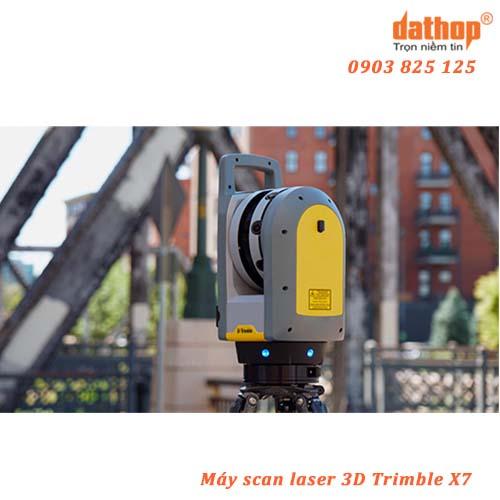 Máy scan laser 3D Trimble X7