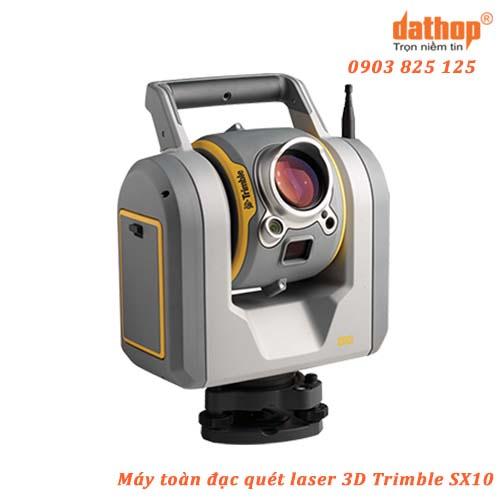 Máy toàn đạc điện tử kết hợp quét laser 3D Trimble SX10