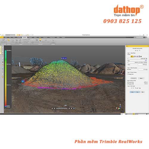 Trimble Realworks là phần mềm xử lý và phân tích dữ liệu từ các thiết bị scan 3D