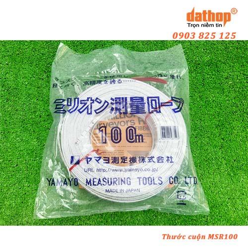 thước cuộn sợi thủy tinh msr100
