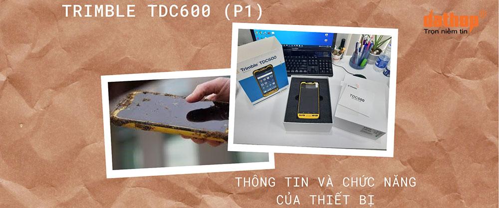 Bo dieu khien Trimble TDC600