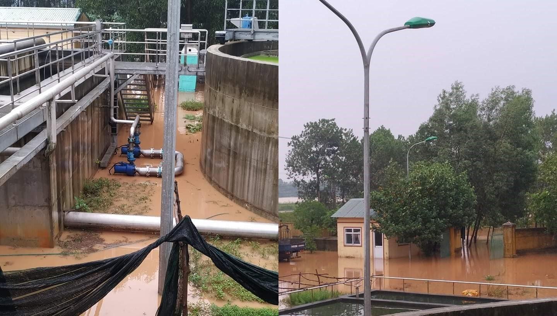 hỗ trợ phục hồi hệ thống xử lý nước thải sau bão