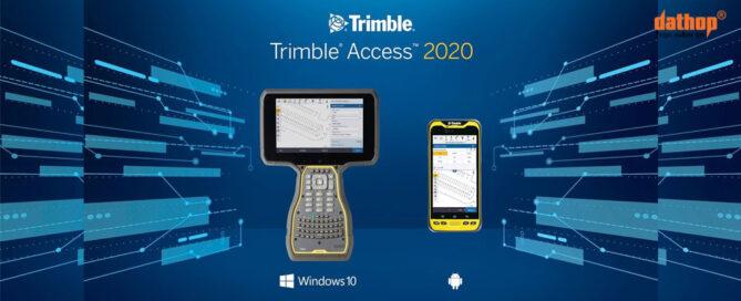 Cai dat ket noi tren Trimble Access 2020