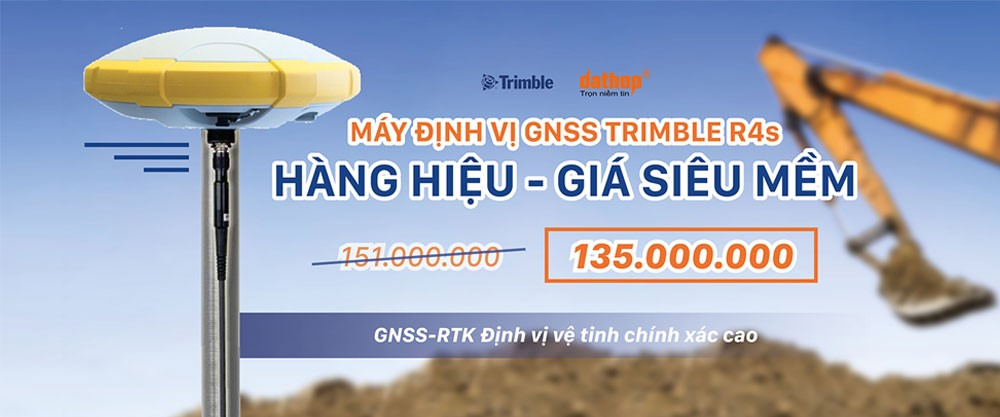 GNSS Trimble R4s - Hang hieu gia sieu mem
