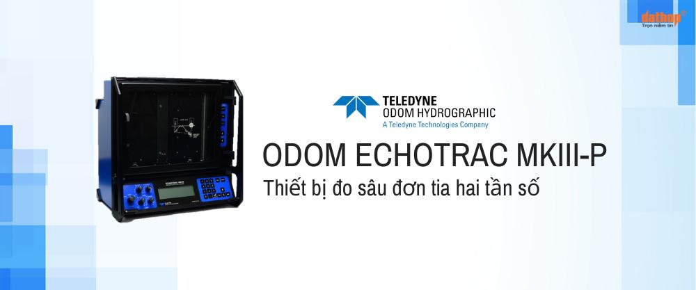 Thiết bị đo sâu đơn tia hai tần số Odom ECHOTRAC MKIII-P