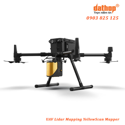 UAV Lidar Mapping YellowScan Mapper