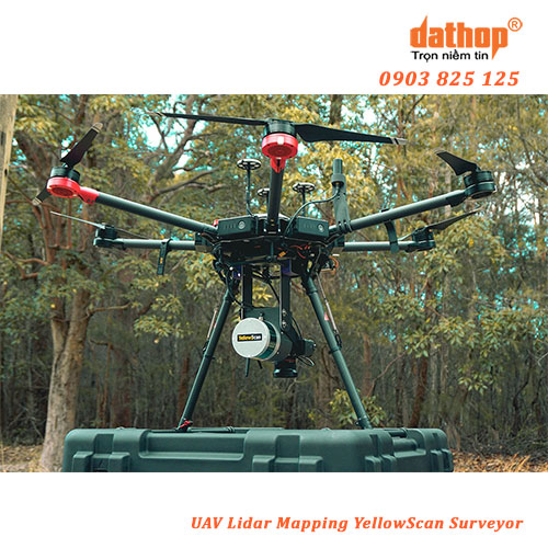 UAV Lidar Mapping YellowScan Surveyor