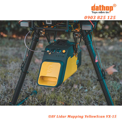 UAV Lidar Mapping YellowScan VX-15