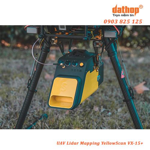 UAV Lidar Mapping YellowScan VX-15 Plus