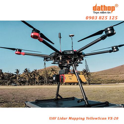UAV Lidar Mapping YellowScan VX-20