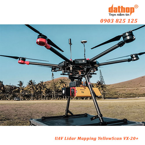 UAV Lidar Mapping YellowScan VX-20 Plus