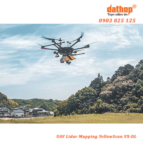 UAV Lidar Mapping YellowScan VX-DL