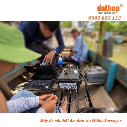 May do sau don tia Midas Surveyor