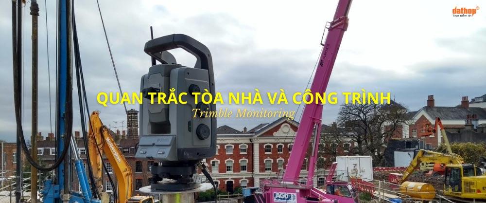 Quan trắc tòa nhà và công trình - Trimble Monitoring