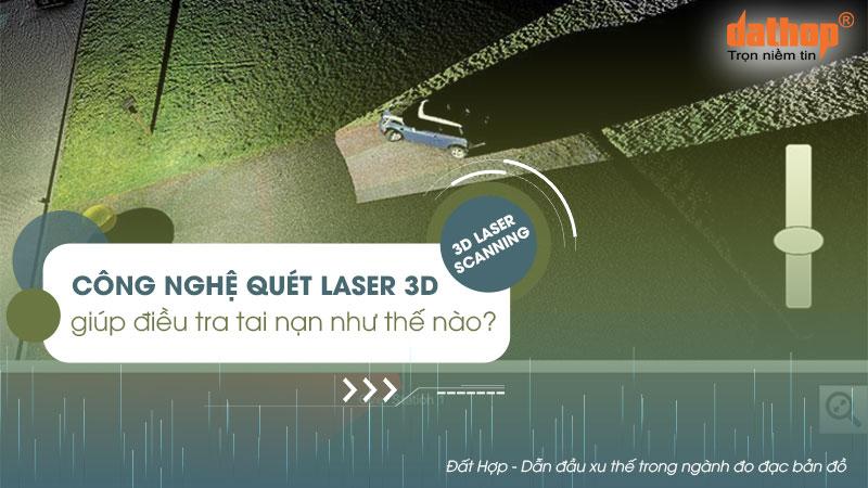 Công nghê quét laser 3d