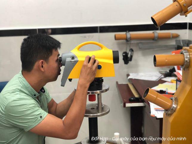 Kiểm nghiệm sửa chữa máy đo đạc