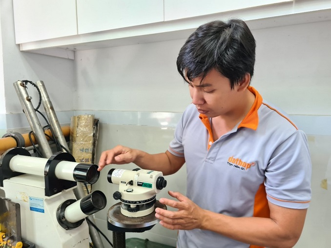 Sửa máy thủy bình uy tín - Trimble, Leica, Topcon, Nikon…