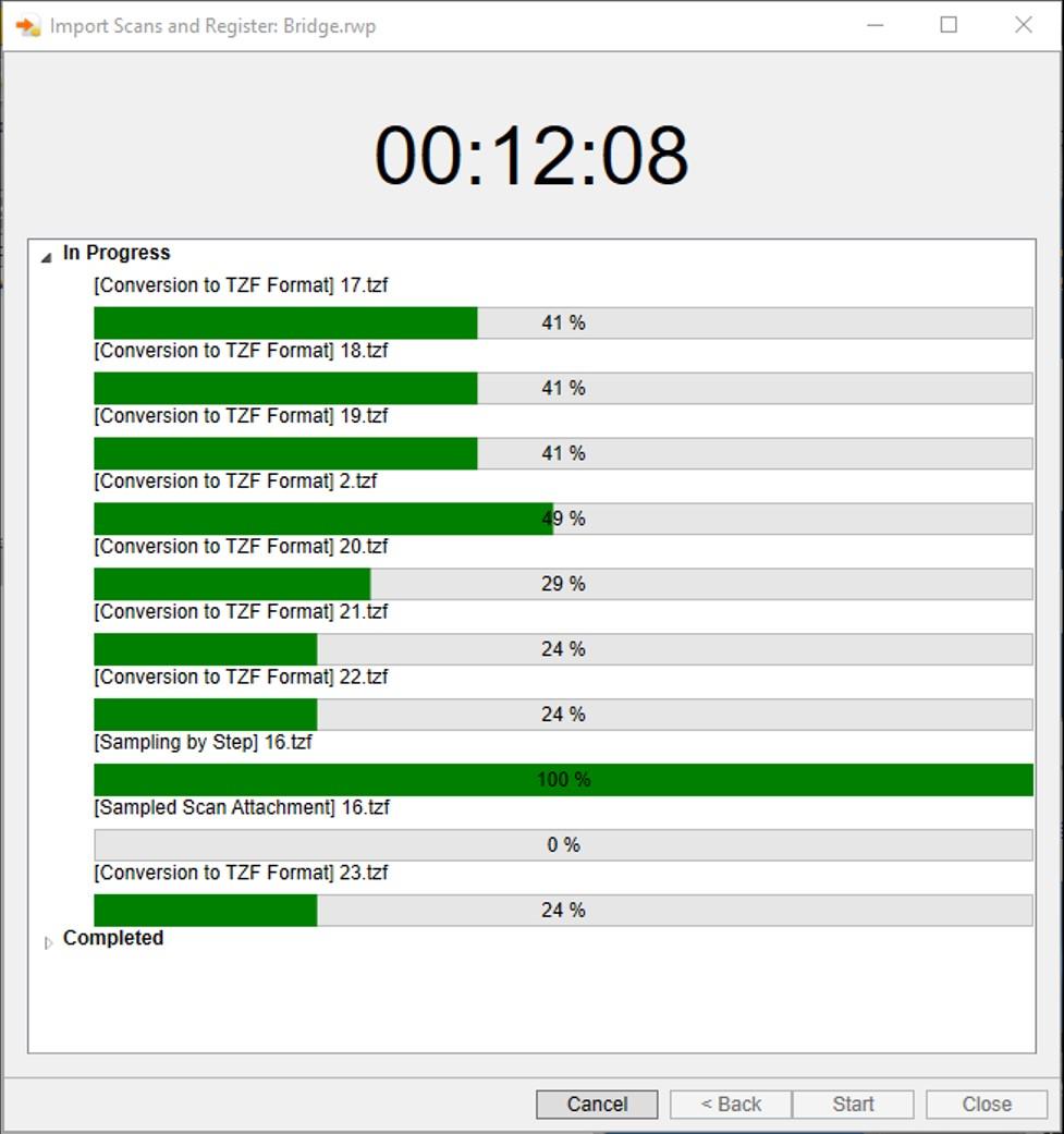Trimble Realworks Batch Import - Nhập và xử lý dữ liệu hàng loạt