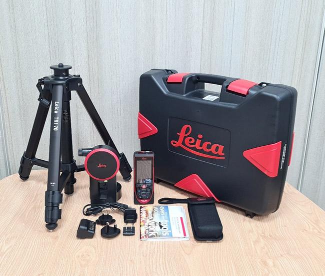 Trọn bộ Máy đo khoảng cách Leica Disto D810