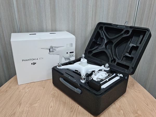 Máy bay không người lái Phantom 4 RTK thương hiệu DJI được ứng dụng nhiều trong đo đạc, khảo sát