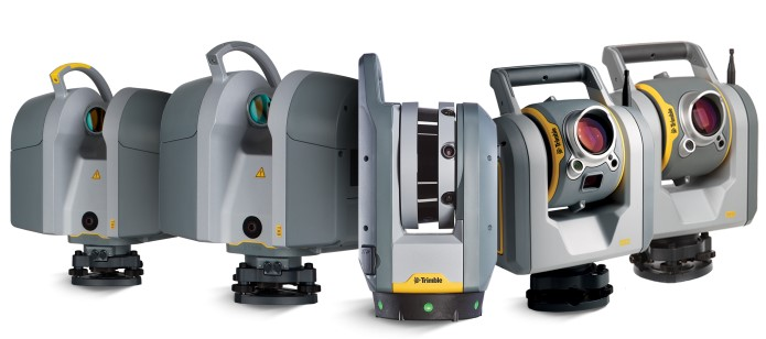 Dòng sản phẩm scan 3D mặt đất của Trimble