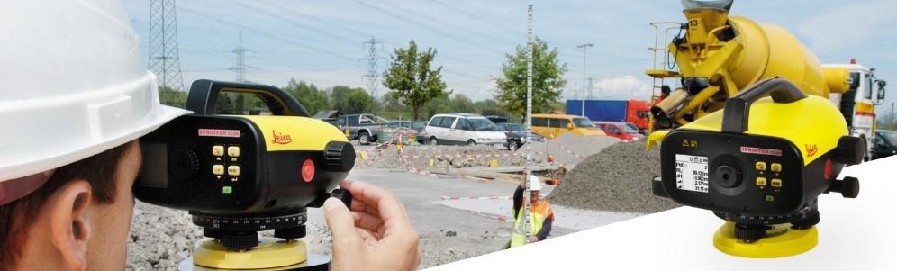 Máy thủy bình điện tử Leica Sprinter phục vụ được đa dạng nhu cầu công việc
